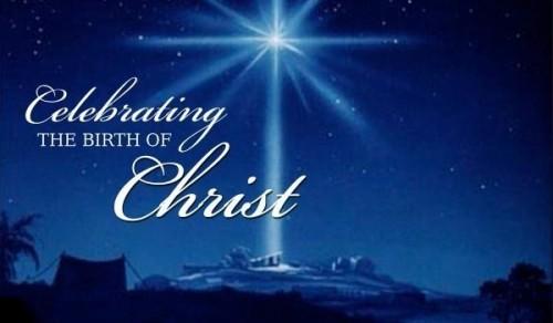 Celebrating the birth of christ