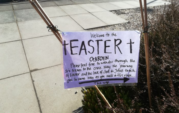 Welcome to our Easter Garden